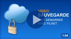 Vidéo Sauvegarde en ligne Filnet