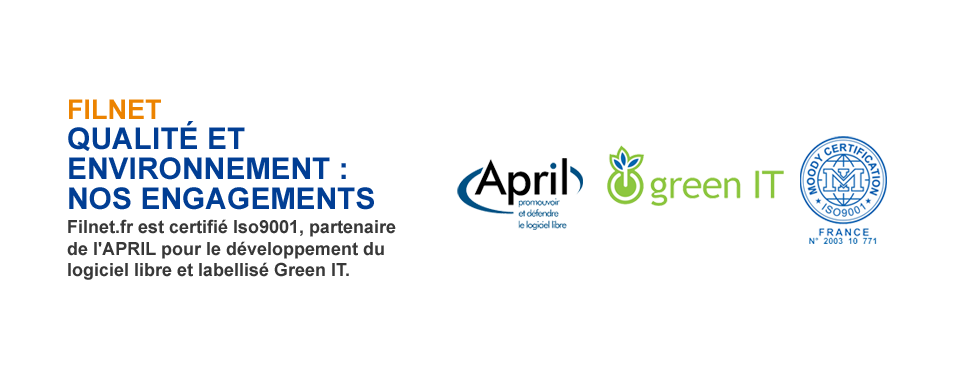 Filnet.fr - le cloud computing online certifié ISO9001