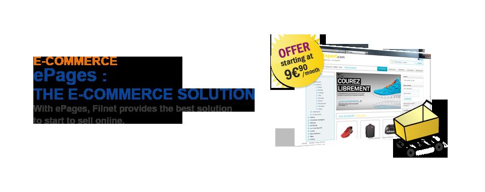 Filnet cloud E-commerce Solution