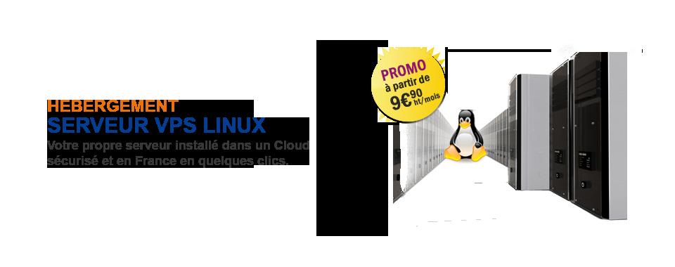 Votre serveur cloud à partir de 9,90 € HT !
