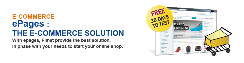 Filnet E-commerce solution