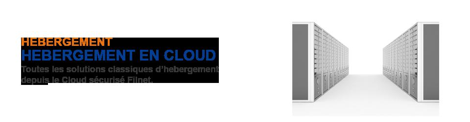 Hébergement en Cloud Filnet