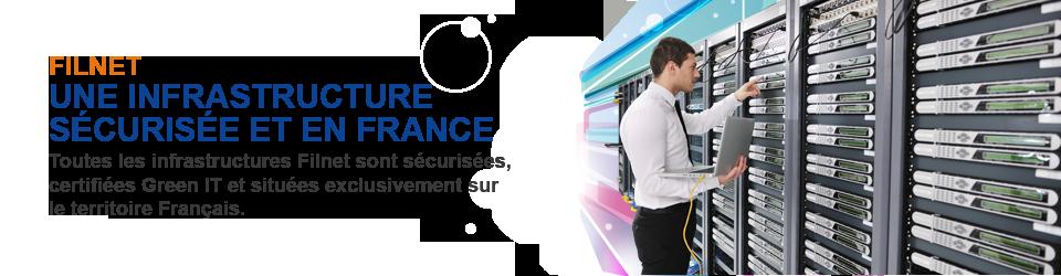 Filnet une infrastructure sécurisée et en France