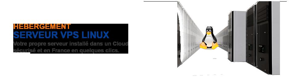 Serveur VPS cloud dédié Linux FILNET