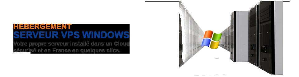 Serveur VPS dédié Windows FILNET